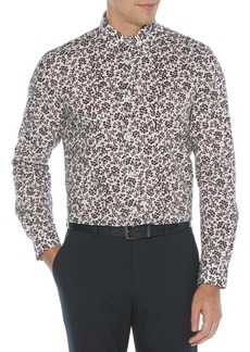 Perry Ellis Essentials Regular-Fit Blossom-Print Shirt
