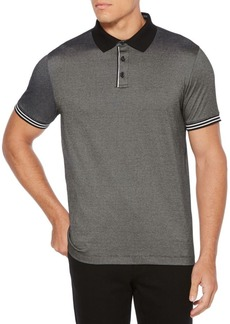 Perry Ellis Feeder Stripe Jacquard Polo