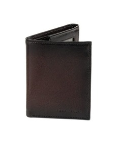 Perry Ellis Leather Slim Trifold Wallet