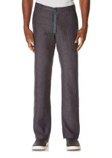 Perry Ellis Linen Drawstring Pants
