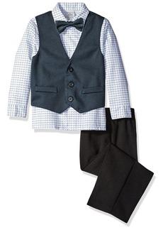 Perry Ellis Little Boys Texture Weave Vest Set