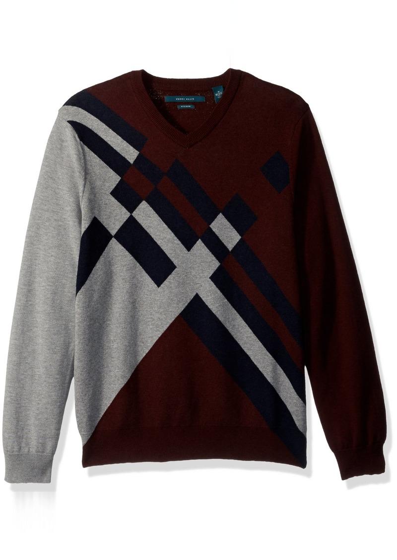 459d36ea9 SALE! Perry Ellis Perry Ellis Men s Argyle V-Neck Sweater
