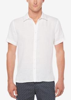 Perry Ellis Men's Aristotle Linen Shirt