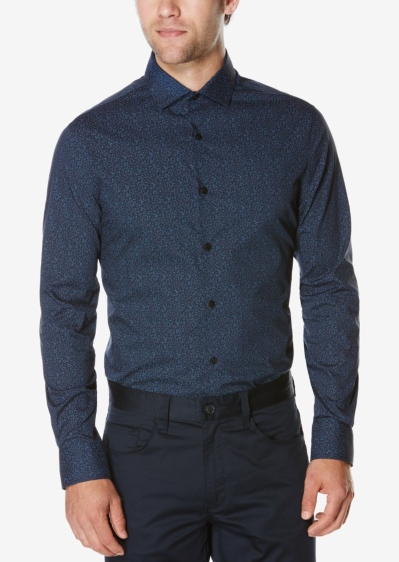 Perry Ellis Men's Big & Tall Autumn Print Shirt