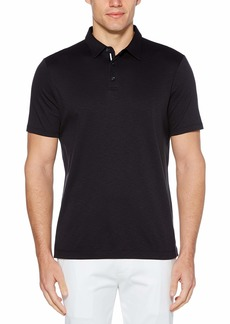 Perry Ellis Men's Big & Tall Ultra Soft Touch Slub Short Sleeve Polo Shirt