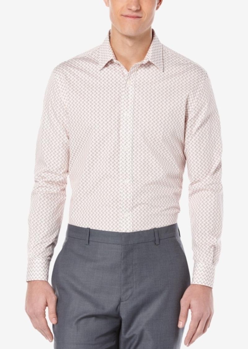 Perry Ellis Men's Mini-Paisley Long-Sleeve Shirt