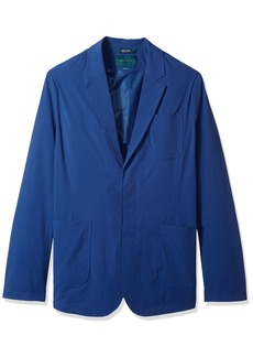 Perry Ellis Men's Big and Tall Solid Stretch Sport Jacket   Regular