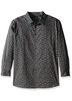 Perry Ellis Men's Big and Tall Stormy Floral Shirt  2XLT
