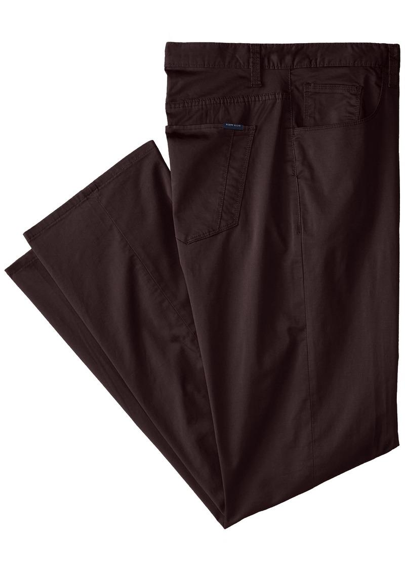 Perry Ellis Men's Big and Tall Stretch 5-Pocket Pant  46W X 32L