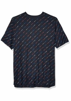 Perry Ellis Men's Big Big & Tall Printed Short Sleeve Tee Shirt  2X Large Tall