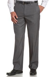Perry Ellis Men's Big-Tall Portfolio Flat Front Bengaline Pant  44x34