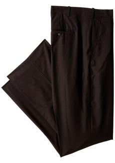 Perry Ellis Men's Big-Tall Solid Pant  40x36
