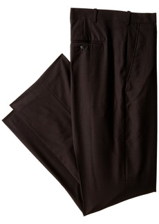 Perry Ellis Men's Big-Tall Solid Pant  46x32