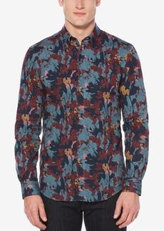 Perry Ellis Men's Camouflage-Print Shirt