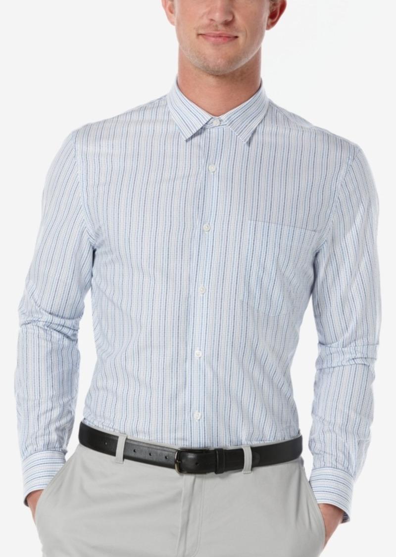 Perry Ellis Men's Challen Striped Long-Sleeve Shirt