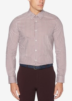 Perry Ellis Men's Check Performance Shirt