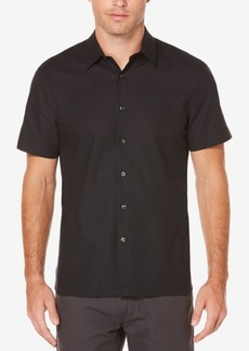 Perry Ellis Men's Classic Fit Textured Shirt