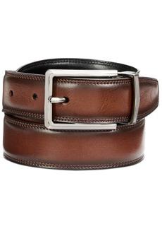 Perry Ellis Men's Classic Reversible Leather Belt