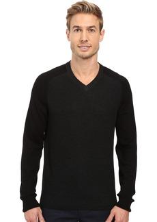 Perry Ellis Men's Color Block V-Neck Sweater