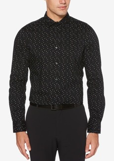 Perry Ellis Men's Dot-Print Shirt