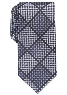 Perry Ellis Men's Erie Check Tie