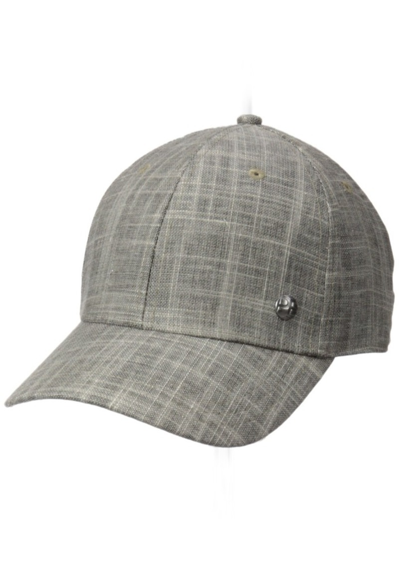 f224bc2cbb2 Perry Ellis Perry Ellis Men s Fabric Baseball Cap