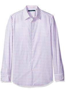 Perry Ellis Men's Faded Check Shirt  L