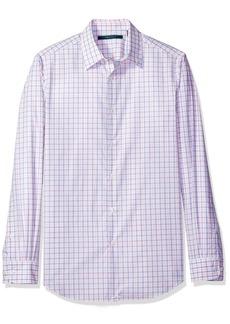 Perry Ellis Men's Faded Check Shirt  XL