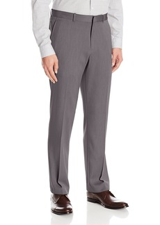 Perry Ellis Men's Flat Front Modern Fit Melange Pant  32x32