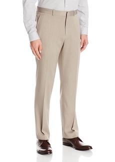 Perry Ellis Men's Flat Front Modern Fit Melange Pant  33x32