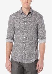 Perry Ellis Men's Floral-Print Long-Sleeve Shirt