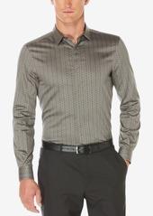 Perry Ellis Men's Floral-Print Sateen Shirt