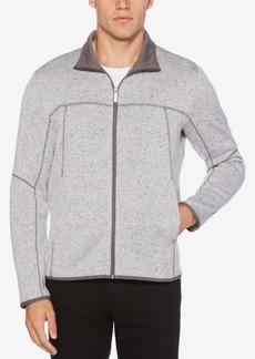 Perry Ellis Men's Full-Zip Knit Sweater