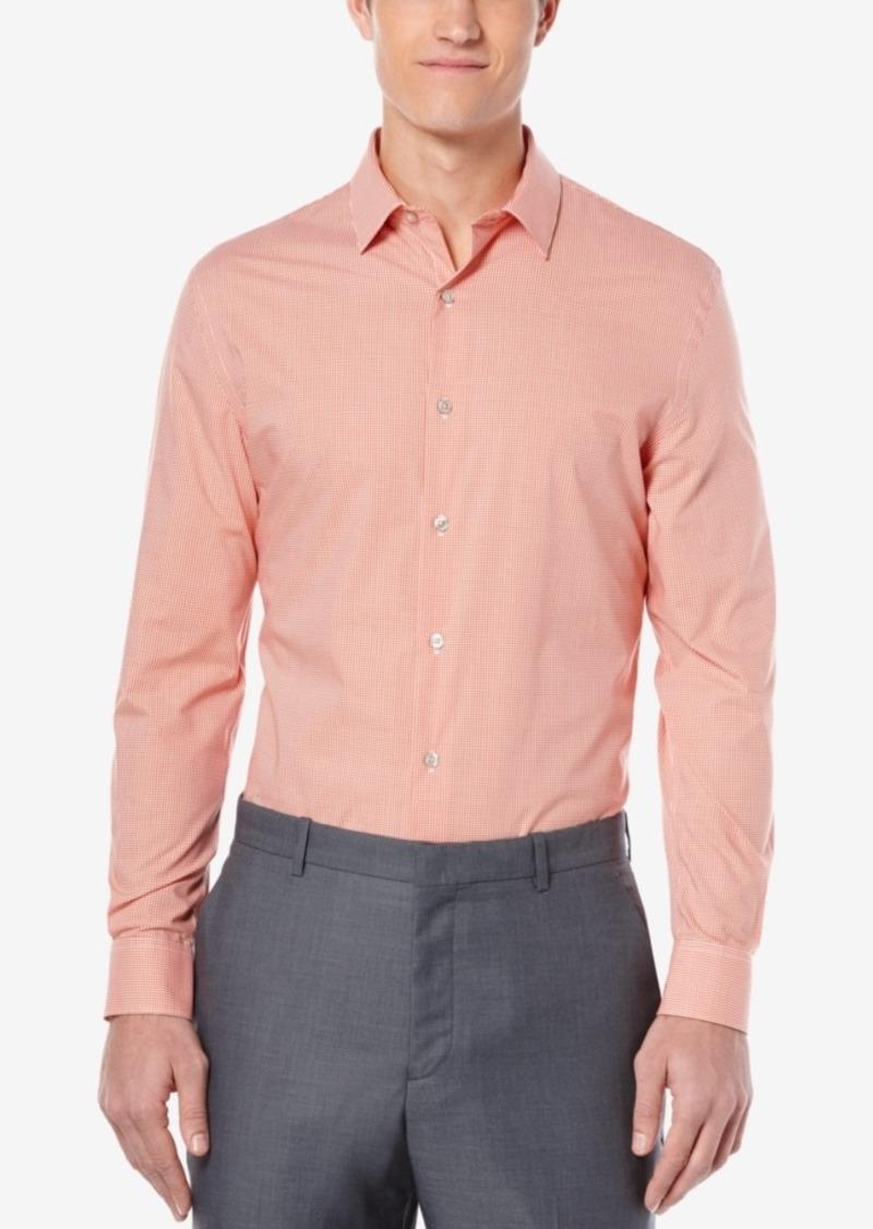 Perry Ellis Men's Gingham Long-Sleeve Shirt