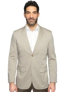 Perry Ellis Men's Heather Twill Stretch Suit Jacket   Regular