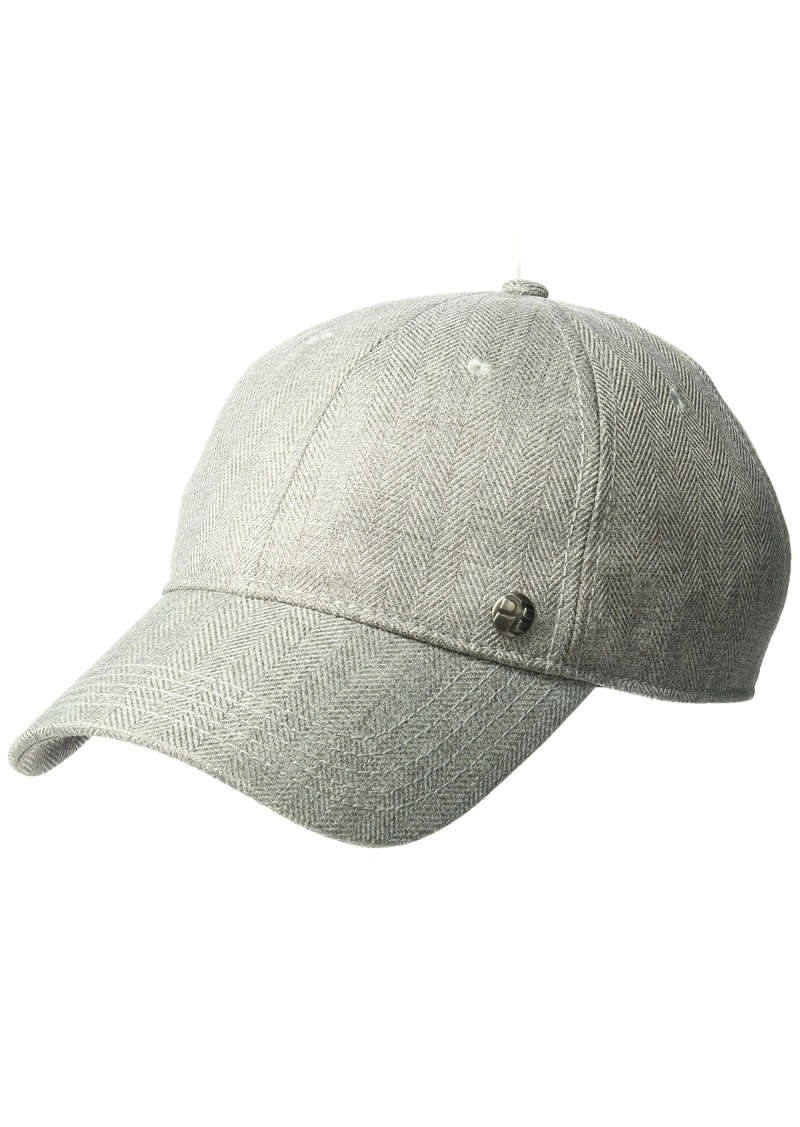 06b3bb29518 Perry Ellis Perry Ellis Men s Herringbone Baseball Cap Now  24.00