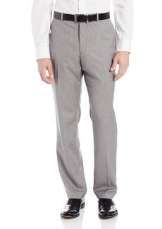 Perry Ellis Men's Herringbone Flat Front Pant  33x32