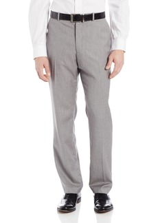 Perry Ellis Men's Herringbone Flat Front Pant  36x34