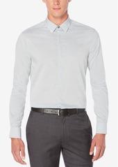 Perry Ellis Men's Horizontal Fine Stripe Shirt