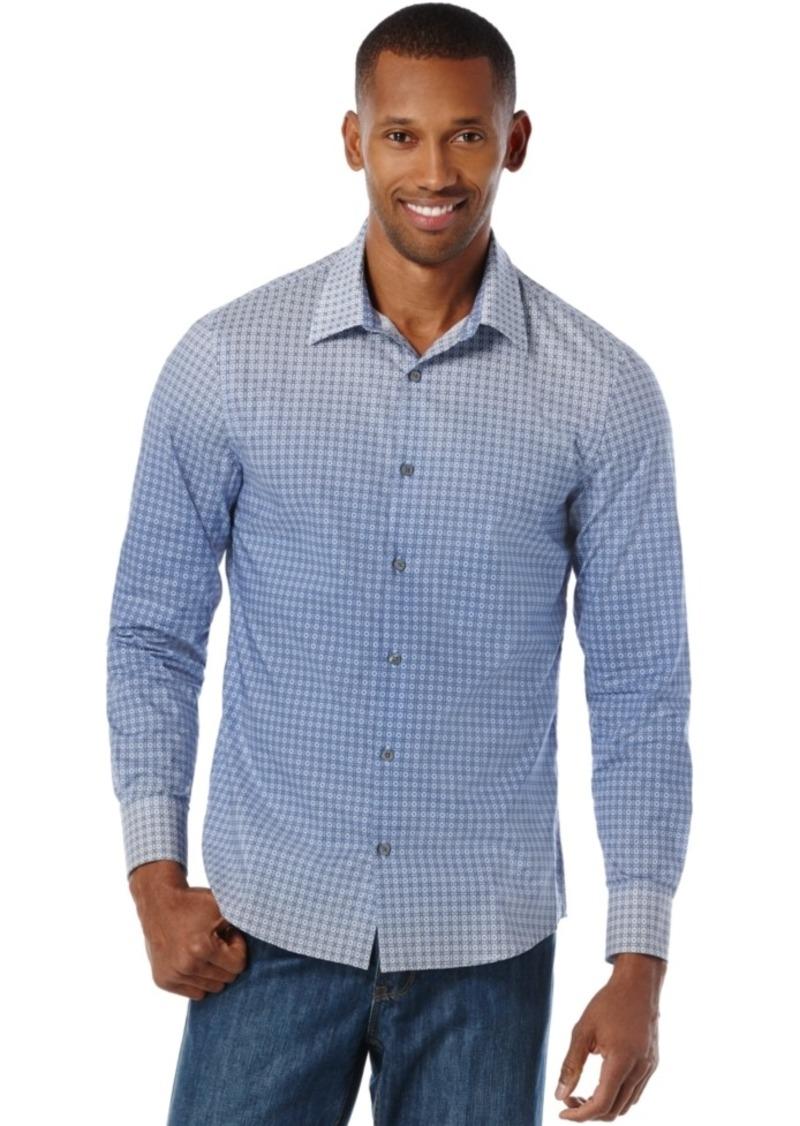 Perry Ellis Men's Kaleidoscope Ombre Print Shirt