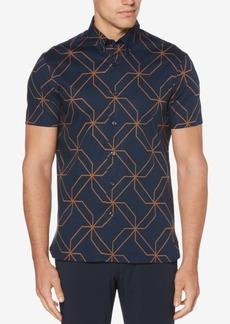 Perry Ellis Men's Kaleidoscope Printed Classic Fit Shirt