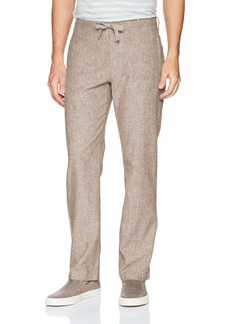 Perry Ellis Men's Linen Cotton Drawstring Pant  34X32