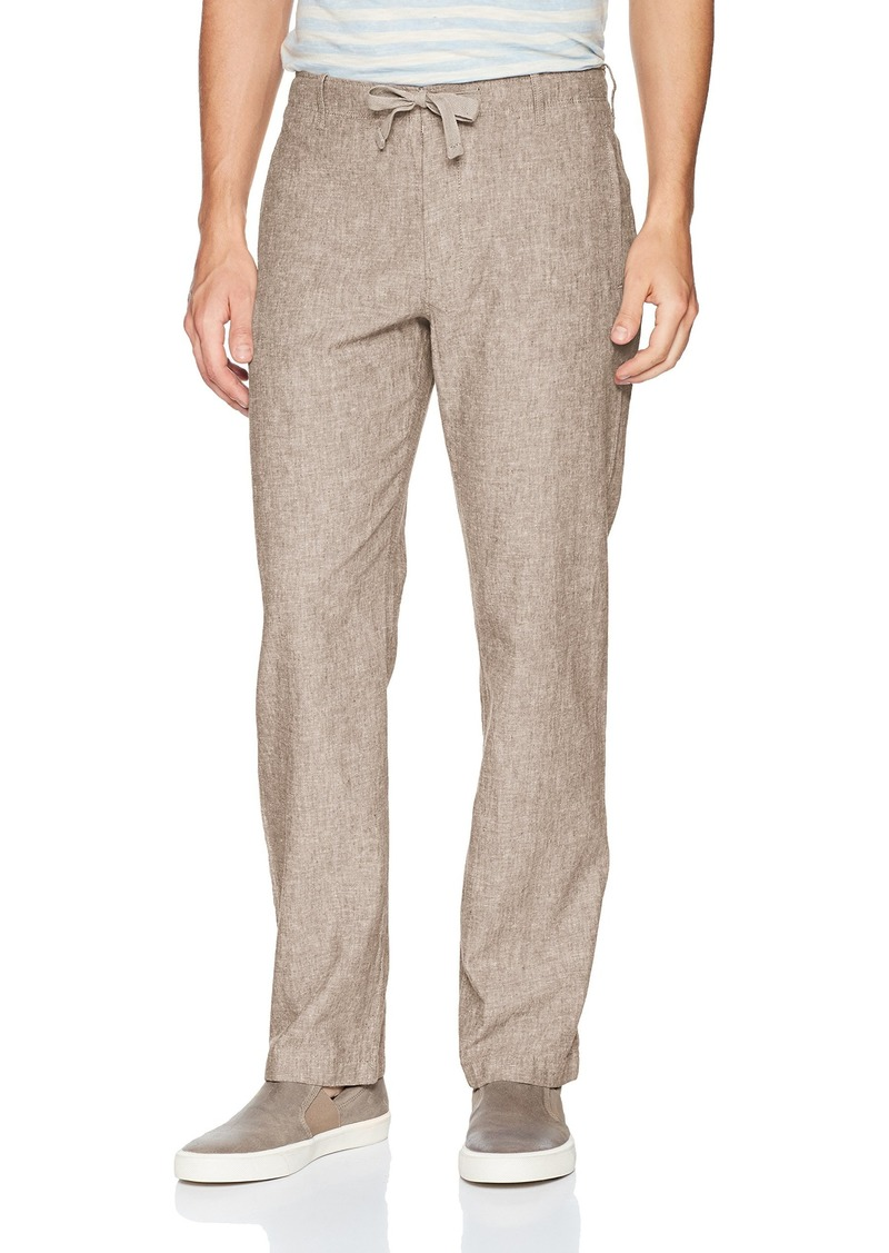 Perry Ellis Men's Linen Cotton Drawstring Pant  34X32