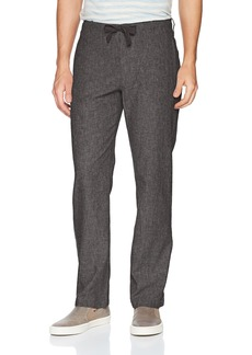Perry Ellis Men's Linen Cotton Drawstring Pant  36X32