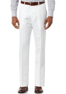 Perry Ellis Men's Linen Blend Solid Twill Pants