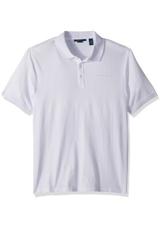 Perry Ellis Men's Logo Pima Cotton Polo