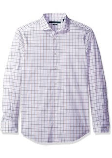 Perry Ellis Men's Long Sleeve Multi Color Check Shirt  Micro Chip-4CSW4015