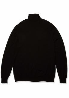 Perry Ellis Men's Long Sleeve Tech Turtle Neck Sweater