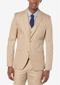 Perry Ellis Men's Lumark Solid Slim Jacket