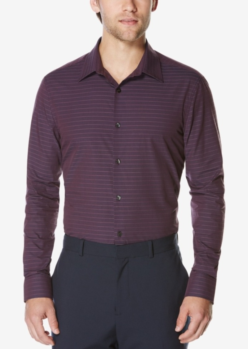 Perry Ellis Men's Men's Striped Dobby Shirt